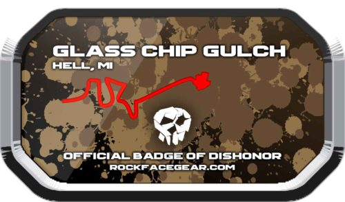 Glass Chip Gulch Badge of Dishonor