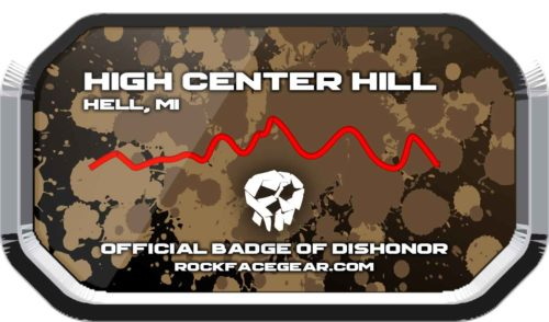High Center Hill Badge of Dishonor