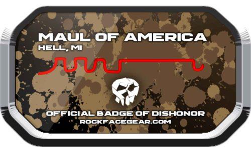 Maul of America Badge of Dishonor